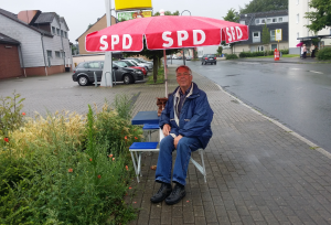 Infostand der SPD