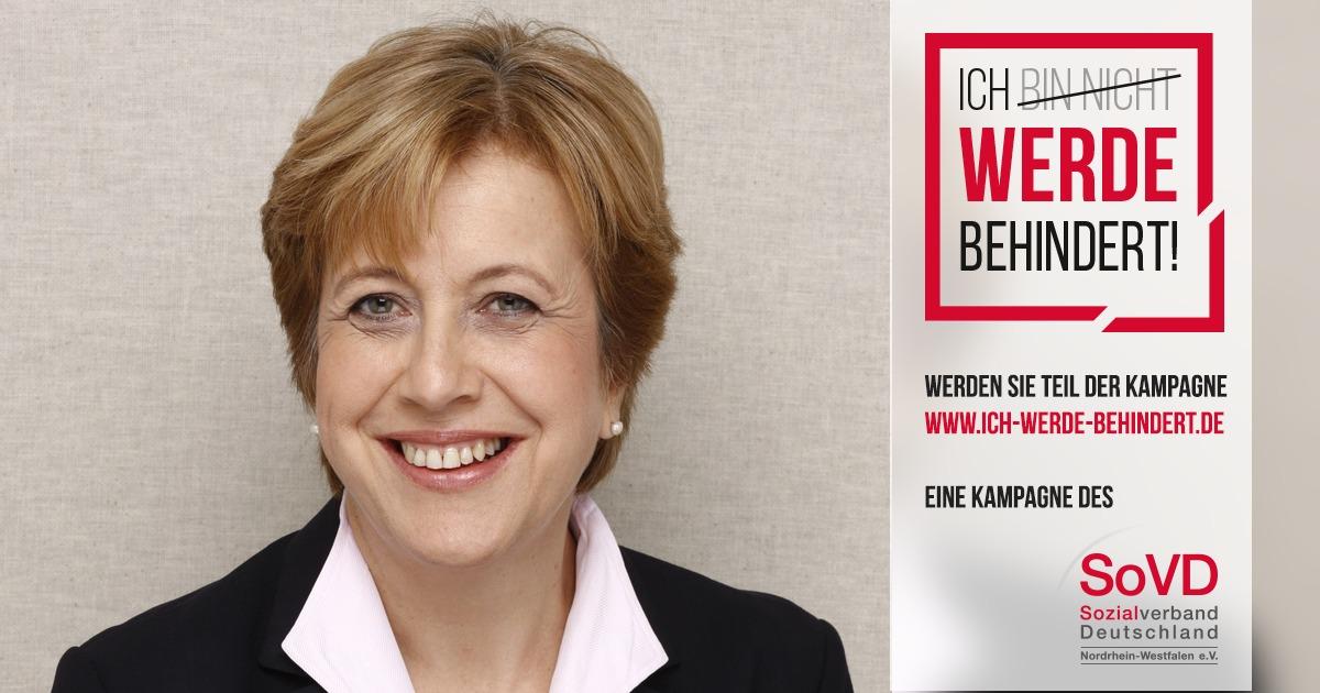 """Elisabeth Müller-Witt unterstützt die Kampagne """"Ich bin nicht behindert - Ich werde behindert"""""""