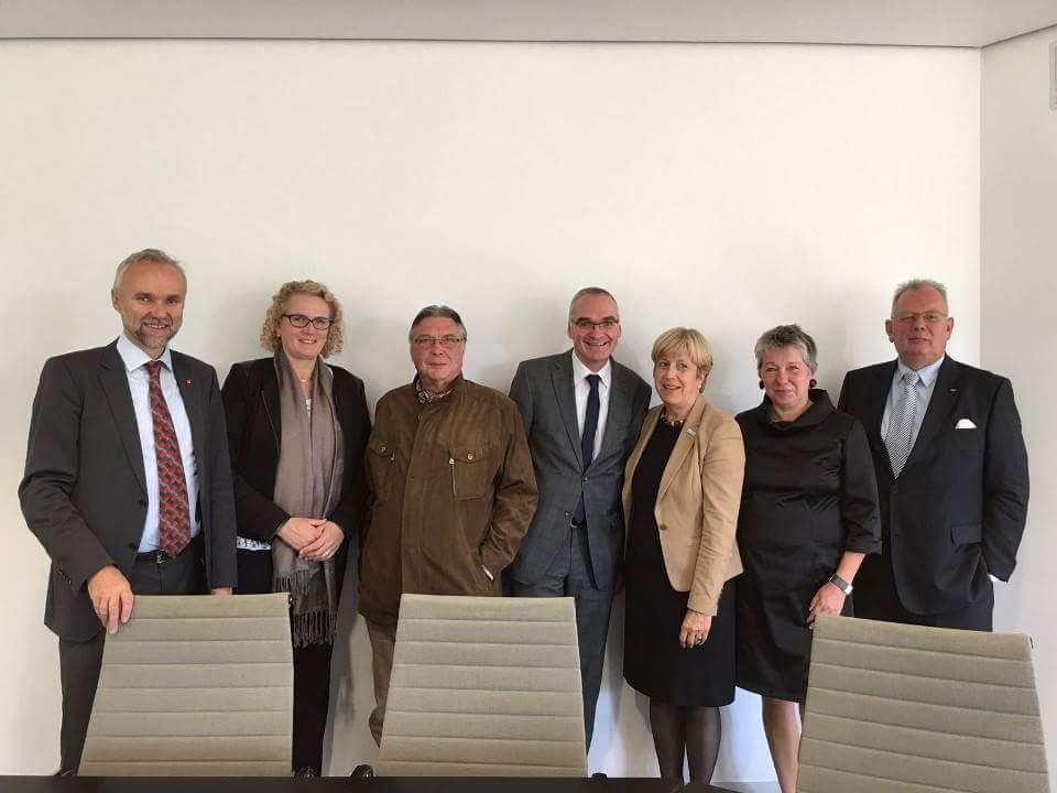 Niederrhein Treffen der SPD-Fraktion