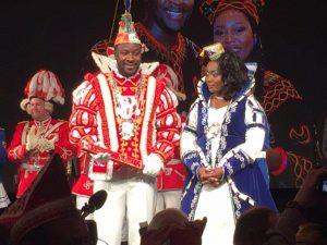Prinzenkürung von Prinz Samuel I. und Prinzessin Jacinta I