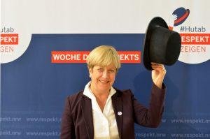 Elisabeth Müller-Witt untersützt die Woche des Respekts