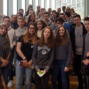 Kopernikus Gymnasium zu Gast im Landtag