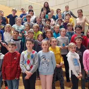 Karl-Arnold-Schule zu Gast im Landtag